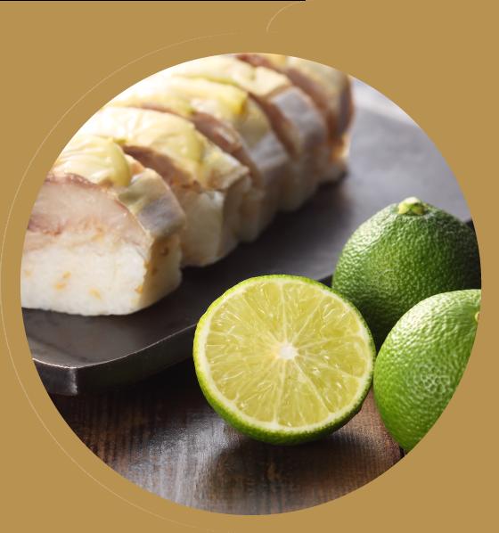 黄金へべす鯖寿司の特徴 レア食感